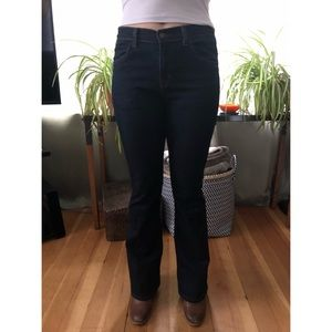 J  Brand Mid Rise Flare